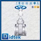 Válvula de puerta da alta temperatura del acero estructural del carbón Ck20 de Didtek