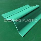 Perfil plástico de la protuberancia del PVC del alto polaco