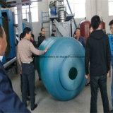 El tanque de agua plástico de la máquina del moldeo por insuflación de aire comprimido del PE que hace la máquina