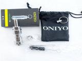 Rechangable bobina o charuto eletrônico do cigarro E do atomizador de cobre ambiental do tanque 3.0 de Oniyo do cromo