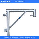 Type en acier type échafaudage de matériau de construction de HDG de Ringlock de système