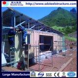 Casas minúsculas de la estructura rápida prefabricadas para el mercado con ingresos inferiores