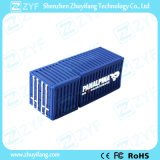De Aandrijving van de Flits van de Container USB van de Lading van pvc van de douane met Embleem (ZYF5044)