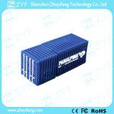 Flash Drive personalizada PVC Contenedor de carga USB con Logo (ZYF5044)