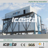 Sistema messo in recipienti del ghiaccio di alta qualità
