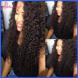 Jery lockiges Haar rollt 100% unverarbeitetes menschliches die Jungfrau-Haar zusammen