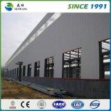 Gruppo di lavoro prefabbricato della costruzione della struttura del blocco per grafici d'acciaio per il garage d'acciaio dell'acciaio del capannone di conservazione frigorifera