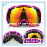 PC 400 UV extérieur emballant les lunettes polarisées de ski en verre de sport