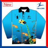 Изготовленный на заказ одеяние басового рыболовства Mens сублимации дешево