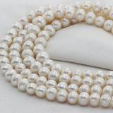 12mmの巨大な大型の自然な淡水のアイボリーの真珠ストリング