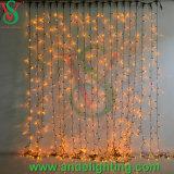 Luzes ajustáveis da cortina do diodo emissor de luz do fio de cobre