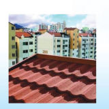 Тип плитка Shake крыши алюминиевого камня цвета Coated