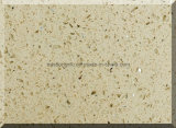 Bancadas grandes da pedra de quartzo da decoração da cozinha do tamanho