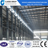 Magazzino diretto della struttura d'acciaio dell'alta fabbrica industriale pesante di Qualtity con la gru