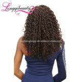 Parrucca piena brasiliana del merletto di Remy dei capelli umani del Virgin del commercio all'ingrosso di 100%