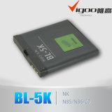 De Batterij van de Telefoon van China Mobile bl-5k voor Nokia