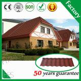 Mattonelle di tetto rivestite di pietra resistenti a temperatura elevata impermeabili del Kerala del materiale da costruzione