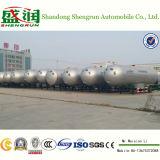 Топливозаправщик трейлера 30tons LPG тележки бака дороги газа LPG с ASME