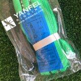 7: 1 estilingue redondo do poliéster 2ton verde com Ce da etiqueta e marca personalizados de Wll