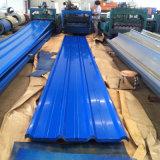 Feuille ondulée enduite de toiture de longue couleur d'envergure de SGCC CGCC Dx51d
