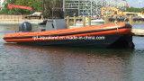 Aqualand 30feet 9m Rib Boat /Inflatable Boat/Passenger Boat (RIB900B)