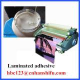 L 물에 근거하는 박판으로 만드는 접착제 (BOPP, 애완 동물 필름 또는 종이 PE/Paper. /Paper)
