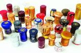 食品等級のアルミニウムワイン・ボトルLid/30*60mm熱いホイルのアルミニウムワイン・ボトルねじ帽子