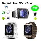 Bluetooth SIM 카드 구멍 (DZ09)를 가진 지능적인 시계 전화