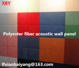 Панель украшения панели потолка панели стены акустической панели волокна полиэфира изоляции жары комнаты записи