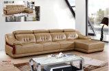 Muebles de cuero de América, sofás de China, sofá seccional de cuero (619)