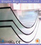 L'acido libero ha inciso il vetro temperato piegato per la balaustra di /Pool del balcone