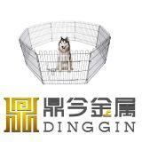 Gebrauchsfertiger Draht-Gehäuse-Hund Hutche