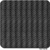 Tsautop heißer verkaufender hydrografisches Kohlenstoff-Faser-Korn-Muster-hydrografischer Film der Breiten-1m/0.5m, Wasser-Übergangsdrucken-Film Tsty579