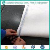 Fieltro de una sola capa de la prensa de la fabricación de papel