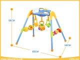 De Reeksen van de Gymnastiek van het Speelgoed van de Baby van de kwaliteit met 3 Rammelaars en Muziek voor Zuigeling