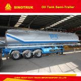 50000liters 수용량 연료 수송 물 탱크 트레일러 알루미늄 유조선 트레일러