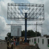 Advertising Outdoor Q235 Steel Billboard with Column