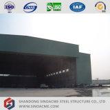 大きいスパンの鉄骨構造の航空機の格納庫
