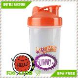300ml нов BPA освобождают пластичную бутылку трасучки протеина