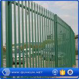 Гальванизированная и порошок покрытия Palisade стальная загородка/Curva Valla/жулик Pliegues Muro