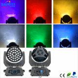 Indicatore luminoso della lavata dello zoom di alta luminosità LED36PCS*10W 4in1 RGBW