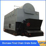 Grande caldeira despedida do cilindro carvão