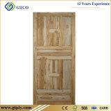 Porte solide en bois de pin inextricable de vente d'usine pour l'usage intérieur de pièce
