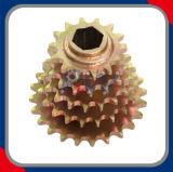 Righe multiple delle ruote dentate che saldano le ruote dentate
