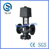 Flangetype y de acero inoxidable válvula motorizada (VD-2615-150)
