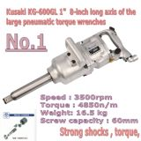 Kg-600gl Um Inch Long Axis de The Pneumatic Impact Wrench Air Tool