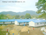 Avoid Snake에 Steel Josit를 가진 인도네시아 Prefabricated Building