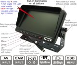 7 Inch DIGITAL TFT LCD MonitorのRearview Systemダンプ