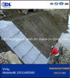 Gaiola revestida da pedra da caixa do PVC Gabion das vendas quentes