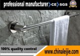 Barre d'essuie-main annexe de salle de bains simple fixée au mur d'acier inoxydable de fournisseur d'usine